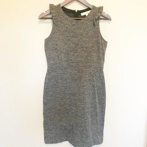 🌸 2FOR$25 LOFT Gray and White Tweed Dress